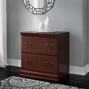 Bush Furniture Birmingham Lateral File Cabinet In Harvest Cherry