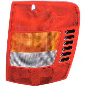 Fits 99 02 Jeep Grand Cherokee Right Passenger Side Tail Light