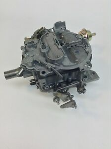 Rochester Quadrajet Carburetor 17080272 1980 Pontiac 301 Turbo Engine