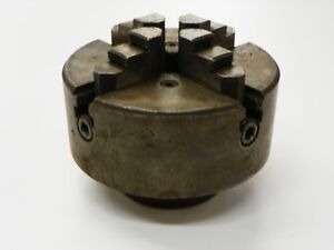 South Bend Lathe Works 6 4 Jaw Lathe Chuck 4206 54 Skinner Chuck Co D233
