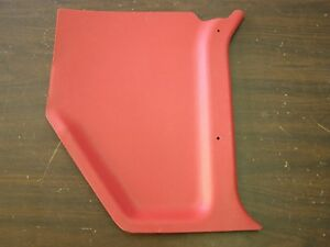 Nos Oem Ford 1961 1964 Galaxie Kick Panel Rh Red 1962 1963 500 Xl