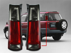 Depo Pair Of Red Smoke Rear Tail Lights New Pair For 1997 2001 Honda Crv Cr V