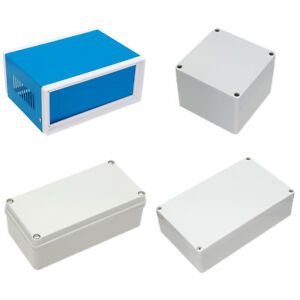Various Sizes Electronic Abs Plastic Diy Junction Box Enclosure Project Case