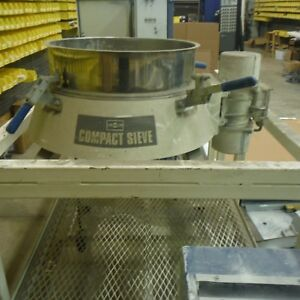 Nordson Powder Coating Compact Sieve By Russell