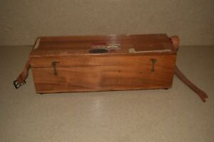 Brunson Wood Box Vintage For Telescope Approx 18 1 2 L X 5 3 4 W X 5 3 4 T