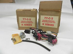 1960s 1970s Set Of 2 Cruise Control Modification Kits For Cadillac K Series Nos