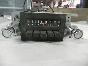 1974 Ford Am Radio Very Nice Fomoco d4aa 18806 Good Core Vintage Antique Wow
