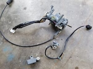 Ignition Switch Cylinder W Door Lock Glove Box Lock 98 02 Rodeo Isuzu Rodeo