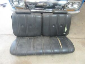 1970 Pontiac Catalina 2 Door Interior Front Seat Frame Section Upholstery Parts