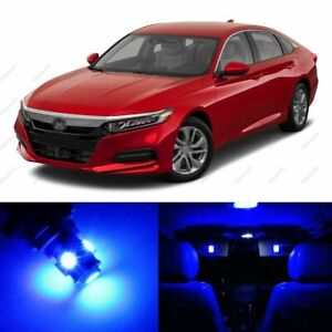 14 X Blue Led Lights Interior Package For Honda Accord 2013 2020 Pry Tool