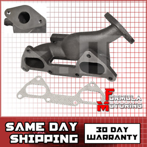 1 5l Cast Iron Turbo Manifold T3 For 89 97 Mitsubishi Mirage 88 94 Dodge Colt