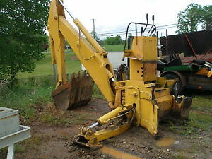 John Deere Hydraulic Backhoe Attachment