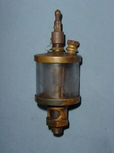 American Lubricator Hit Miss Gas Steam Engine Cylinder Brass Oiler
