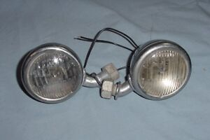 Original 1933 1934 Ford Cowl Parking Lights Turn Signal Vintage Hot Rat Rod Scta