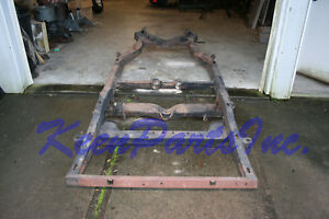1968 Chevrolet Corvette Frame Great Shape Can Convert To 1967