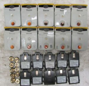 Lot Of 10 Siemens Thermo Epd Mk2 3 Electronic Personal Dosimeter Yellow