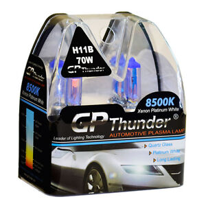 Gp Thunder 8500k H11b Xenon Light Bulbs Pair 70w For Kia Borrego Optima Sedona