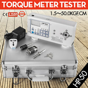 Digital Torque Meter Tester 0 05 5n m Lcd Display 110v Portable Peak Value
