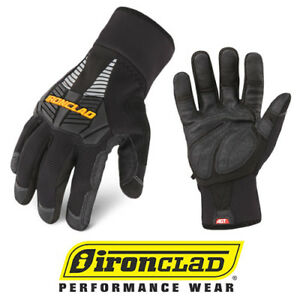 Ironclad Gloves Ccg Cold Condition Insulated Winter Work Gloves 12 Pair Ca