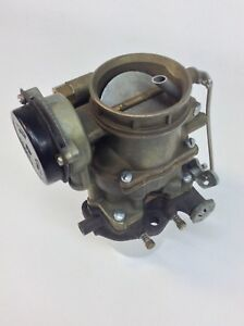 Nos Holley 2110 Carburetor R1283 1956 Ford Car 272 Engine Y Block