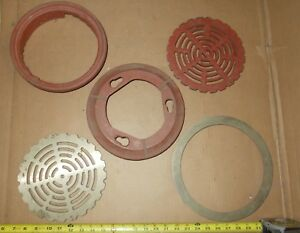 Wade Floor Drain Top Assembly Grate Cast Iron Bronze Brass Extra Parts