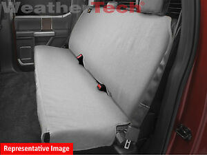 Weathertech Bench Seat Protector In Grey De2030gy For Trucks Cars Suvs