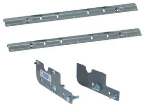 Rvk2501 B W 5th Wheel Hitch Custom Mounting Brackets Rails Silverado Sierra Hd