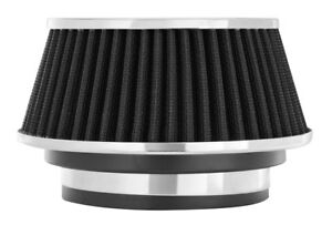 Air Filter 2 625 In Tall Spectre 8161 Cone Air Filter Short 3 3 5 4 Black
