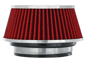 Air Filter 2 625 In Tall Spectre 8162 Cone Air Filter Short 3 3 5 4 Red