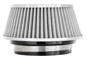Air Filter 2 625 In Tall Spectre 8168 Cone Air Filter Short 3 3 5 4 White