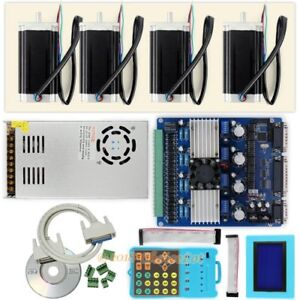 4axis Pro Tb6560 Stepper Driver Kit Keypad display 2 5nm Nema23 Motors psu