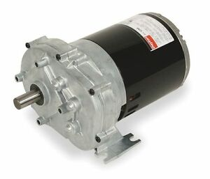 1 4 Hp 60 Rpm 115v Dayton Ac Parallel Shaft Gear Motor 115v 5k940 1lpp2