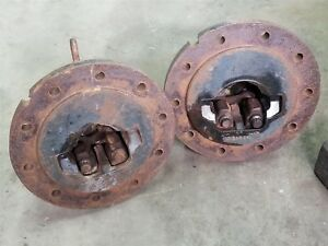 10 Bolt Dual Hubs Ih International 4 Axle 1566 1586 5288 5488 Ect