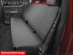 Weathertech Bench Seat Protector In Black De2020ch For Trucks Cars Suvs