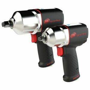 Ingersoll Rand 1 2 And 3 8 Composite Impact Wrench Combo Kit 21352115qxpa
