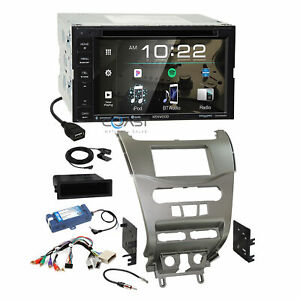 Kenwood Dvd Sirius Spotify Stereo Silv Dash Kit Amp Harness For 08 Ford Focus