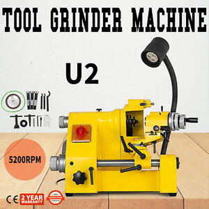 U2 Universal Tool Cutter Grinder Machine Low Noise Drill Bits Multi functional