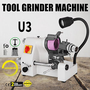 U3 Universal Tool Cutter Grinder Machine 100mm Grinding Less Vibration 5200rpm
