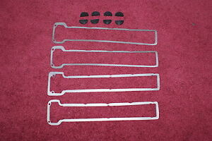 Maserati Ghibli Khamsin Indy Valve Cover Gaskets And Rubber Seal Half Moons