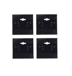 N ice Packaging 500 pcs 1 5 X 1 5 Black Hanging Earring Cards Jewelry Displ