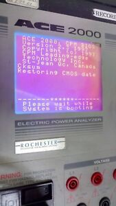 Rochester Ace 2000 Electric Power Analyzer Data Logger Version 2 3