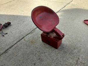1949 Farmall C Seat Assembly Tool Box With Serial Tag International Super C