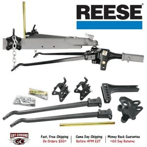 66540 Reese High Performance Trunnion Bar Weight Distributing Hitch
