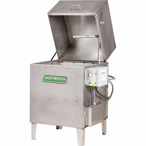 Free Shipping kleentec Aqueous Parts Washer 30 Gal Stainless Steel kt9200ss