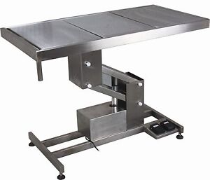 New Ft 854 Stainless Steel Electric Lift Veterinary Operating Surgical Table