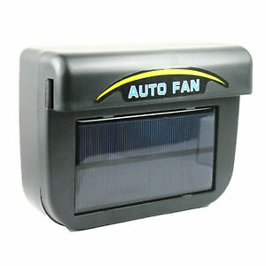 Solar Powered Car Exhaust Fan Air Vent Cool Fan Auto Cooler Ventilation System