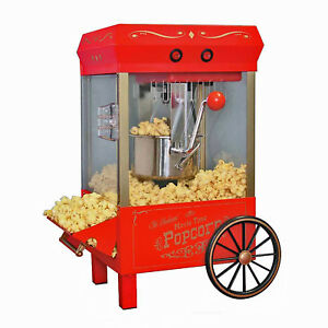 Old Fashioned Hot Oil Kettle Popcorn Maker Vintage Style Popper Machine Kpm 508