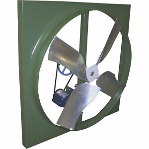 Canarm Belt Drive Wall Exhaust Fan 24in 1 3 Hp 3 270 Cfm Single Phase