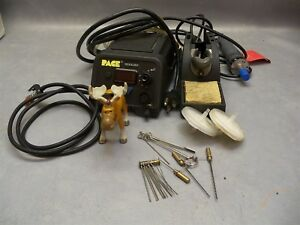 Pace Desoldering Rework Station St85 W Handpiece Stand Accessory Cleaning Kit