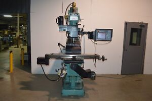 Southwestern Industries Trak K4 Knee Milling Machine With Proto Trak Smx 3 Ctrl